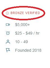 Mobile app developers verified