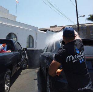 Car washing app