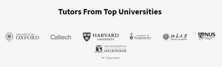 Tutor app universities